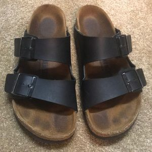 Birkenstock Black Arizona Size 38